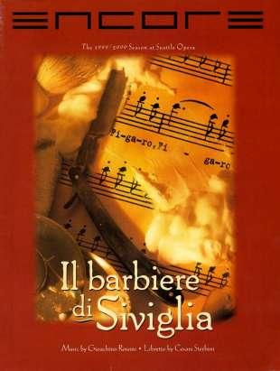 1999-00 Il barbiere di Siviglia Cover