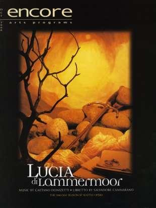 2000-01 Lucia di Lammermoor Cover