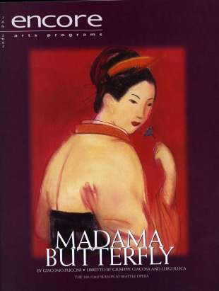 2001-02 Madama Butterfly Cover