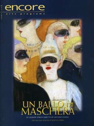 2001-02 Un ballo in maschera Cover