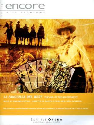 2003-04 La fanciulla del West Cover