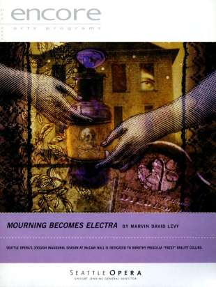 2003-04 Mourning Becomes Electra Cover