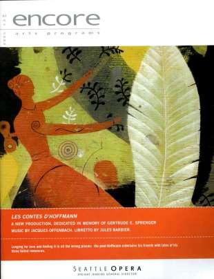 2004-05 Les contes d'Hoffmann Cover