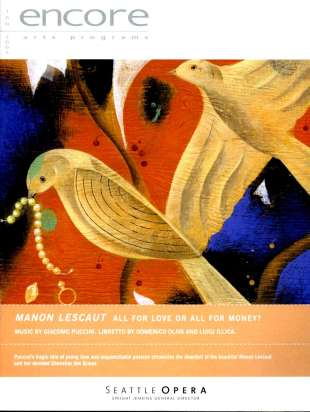 2004-05 Manon Lescaut Cover