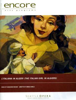 2006-07 L'Italiana in Algeri Cover