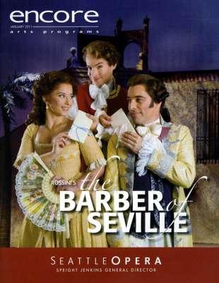 2010-11 Il Barbiere de Siviglia Cover