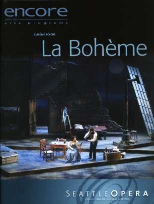 2012-13 La Boheme Cover