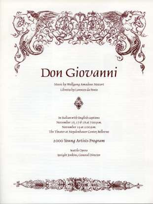 YAP 2000 Don Giovanni Cover