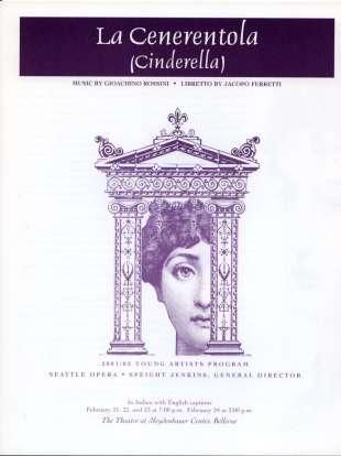 YAP 2001 La Cenerentola Cover
