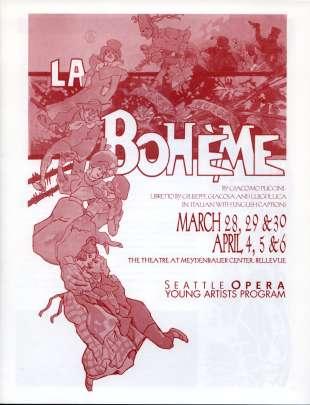 YAP 2003 La Boheme Cover