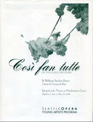 YAP 2004 Cosi fan Tutte Cover