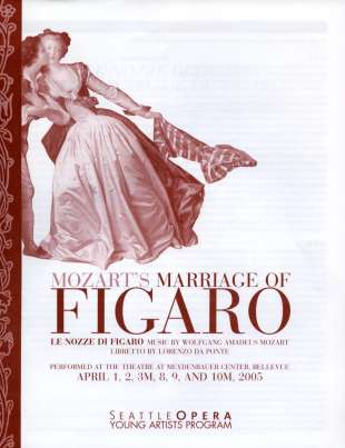 YAP 2005 Marriage of Figaro Cover