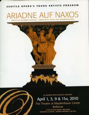 YAP 2010 Ariadne Auf Naxos Cover