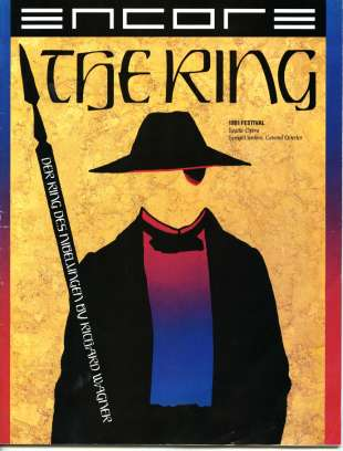 1991 Ring Program Cover